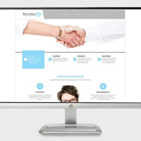 website voor een hypotheekadviseur